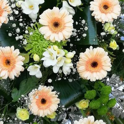kwiaty wieniec