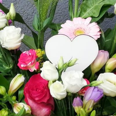 kwiaty zserduszkiem