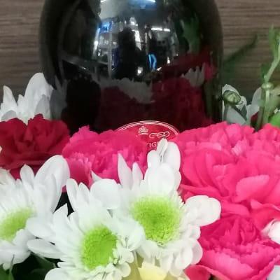 kwiaty wino