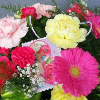 kwiaty wiązanka